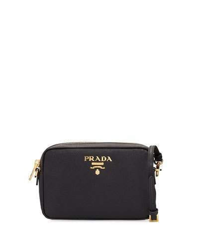 04e2716da86bf1 Prada Small Saffiano Leather Camera Crossbody Bag | sell or buy ...