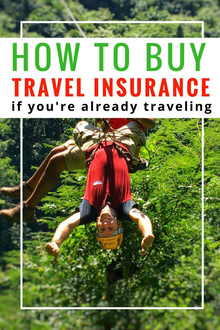 Can i buy travel insurance if im already abroad travel