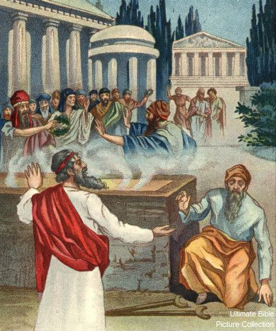 Acts 14 Bible Pictures Paul Heals The Crippled Man At Lystra