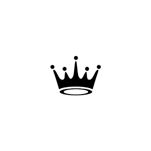 crown black white aesthetic freetoedit