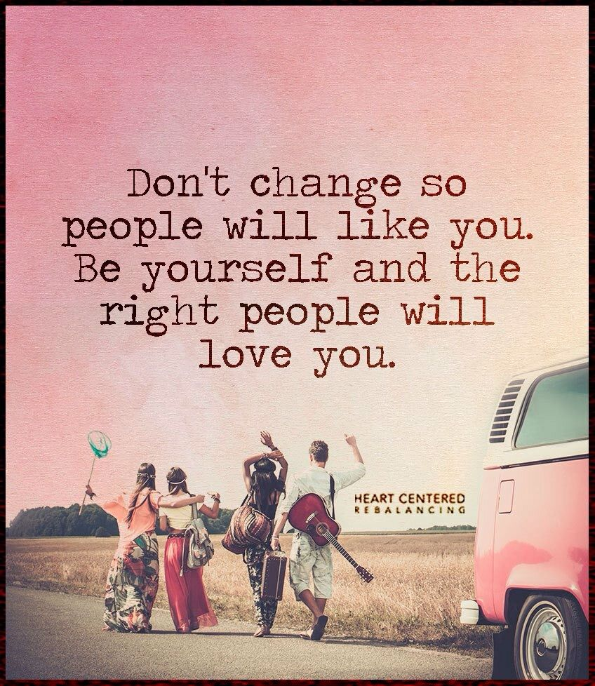 Love This Quote Be True To Yourself And You Will Attract The Right