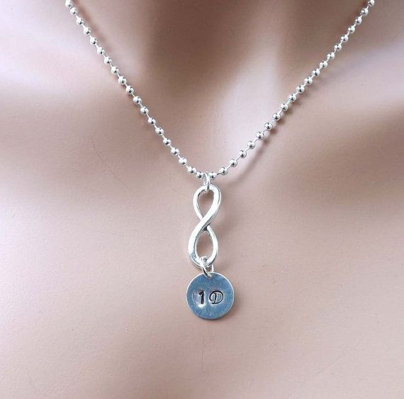 One Direction Infinity Necklace Directioner 1d One Direction Necklace Infinity Necklace Beautiful Necklaces Necklace