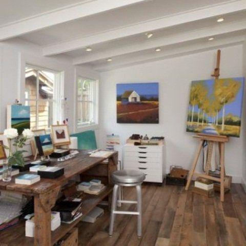 Delicieux 22 Home Art Studio Design And Decorating Ideas That Create Inspiring Spaces  | Art Studio Storage, Art Studio Design And Art Studios