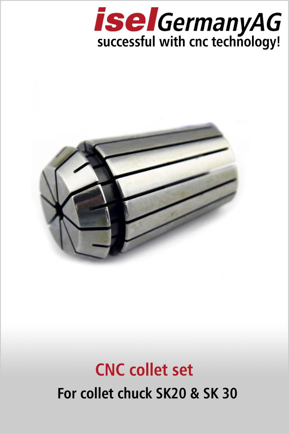 Precision Collet For Collet Chuck Sk20 Sk 30 Router Accessories Cnc Accessories