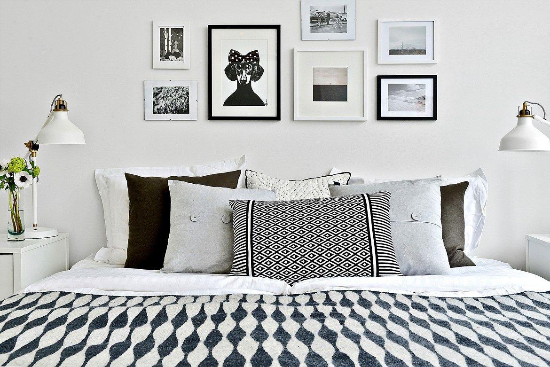Bedroom with wall art design bedroom decor pinterest wall art