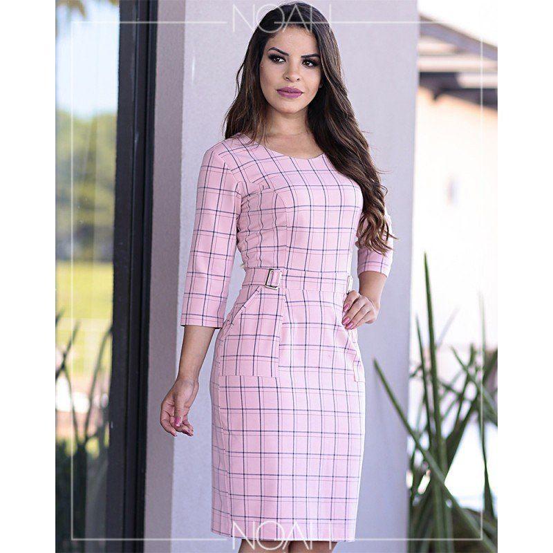 44a45dfe824bab Alexandra em 2019 | PAOLA SANTANA | Vestidos xadres, Vestidos para ...