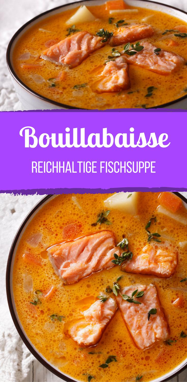Bouillabaisse (reichhaltige Fischsuppe) #seafoodstew