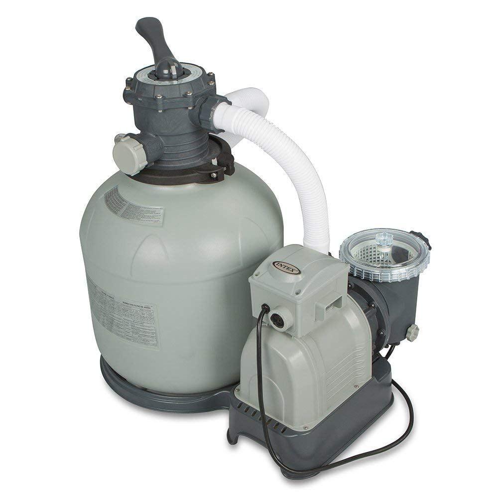 Intex Krystal Clear Sand Filter Pump, 16inch, Above