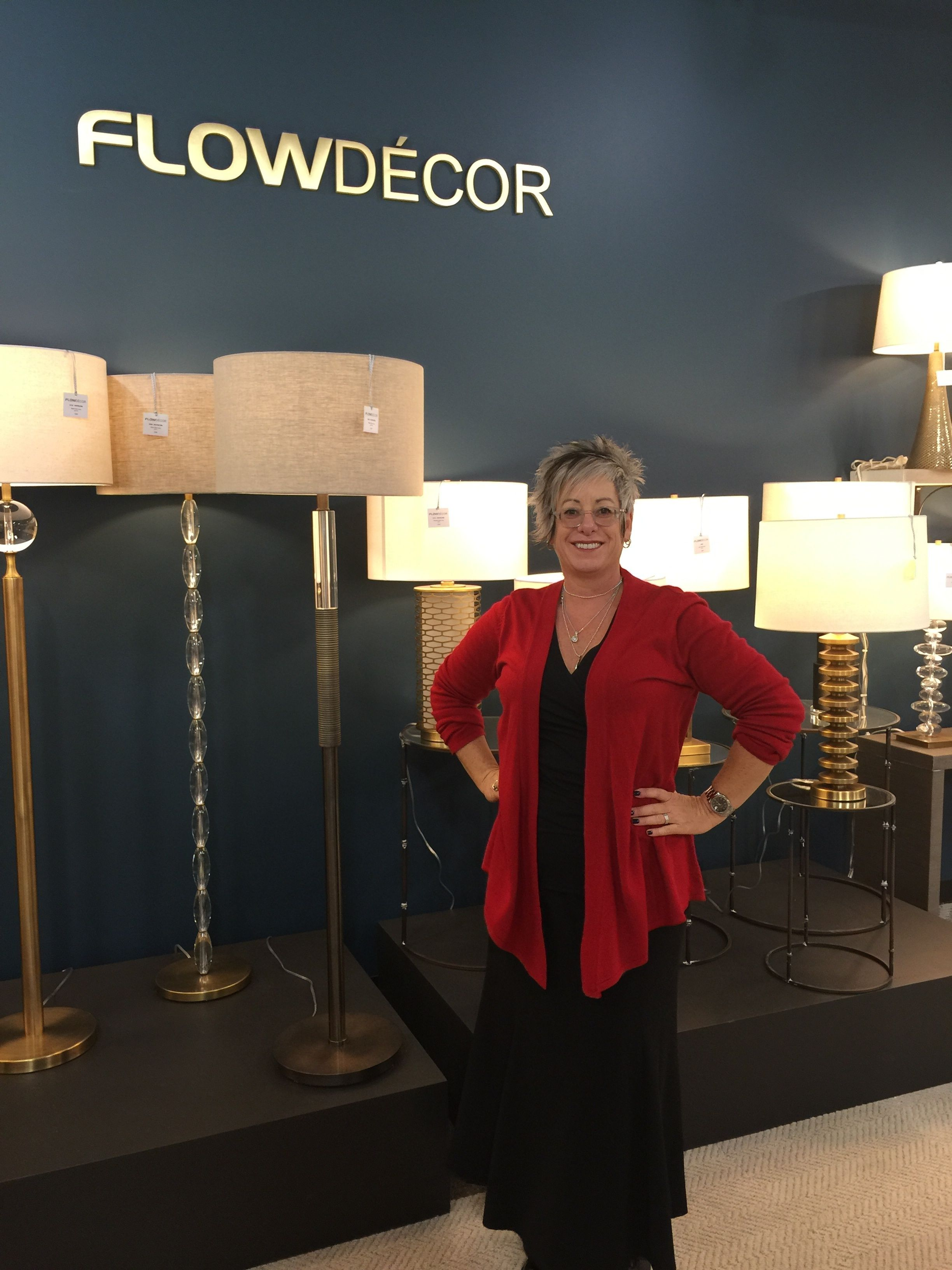 Best new find at LV Market - table & floor lamps by Flow Decor