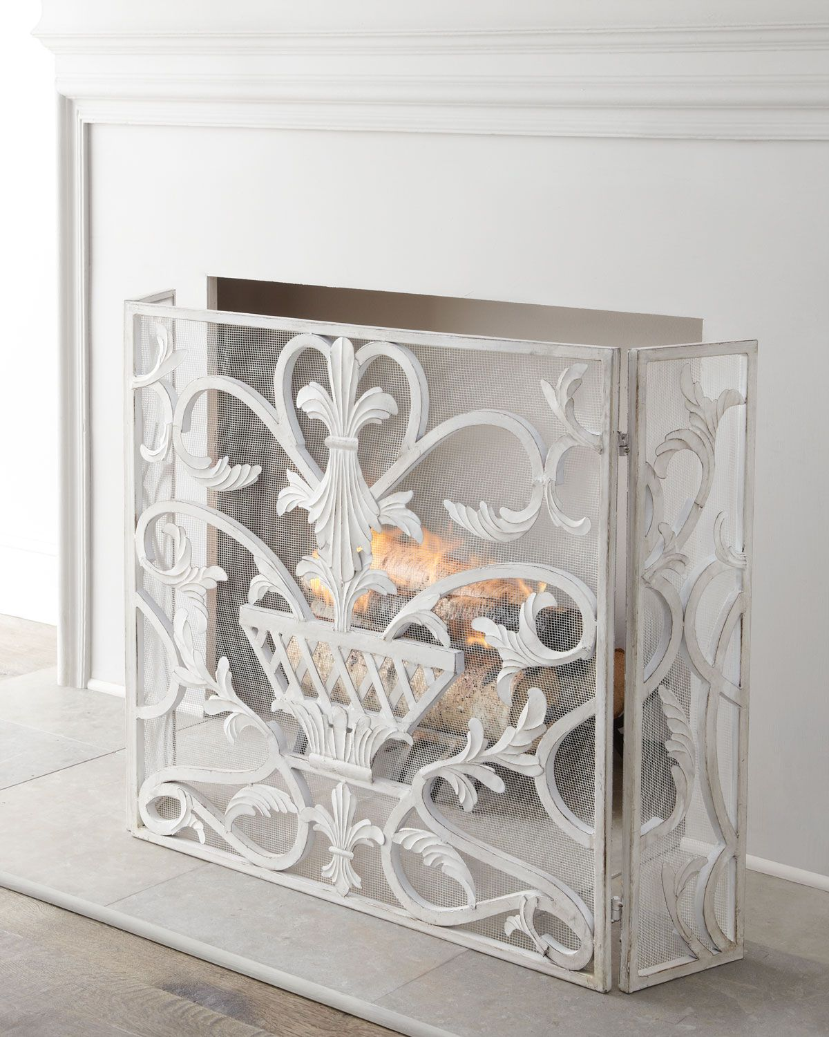 maly products by co white steel screen peter sportique conmoto base fireplace