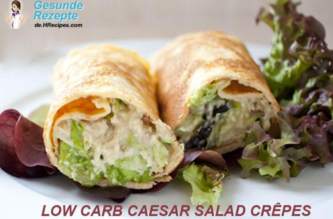 Caesar salad Crêpe :http://gesunderezepte.me/caesar-salad-crepe/