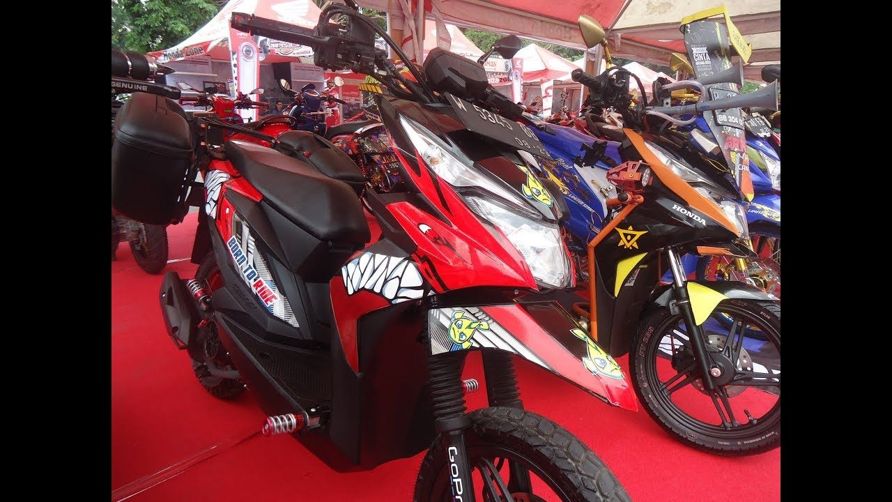 50 Modifikasi Beat Street Touring Terbaru