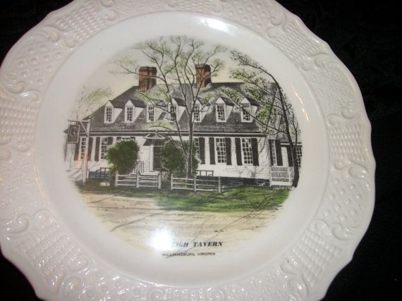 Vintage Souvenir Collector Plate of Raleigh by TheShopOnBerryLane, $17.50