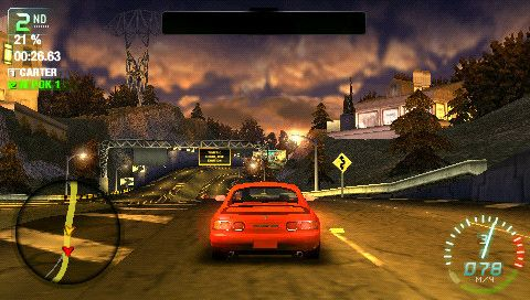 [PSP] Need for Speed Carbon: Own The City [2007, Вот плывёт корабль пустыни, Съест и прожуёт за раз!