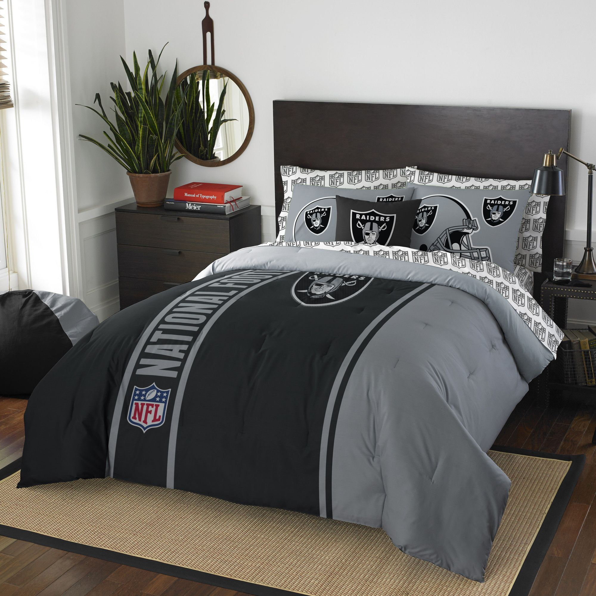 Nfl Raiders Comforter Set Full Comforter Sets Full Bedding Sets