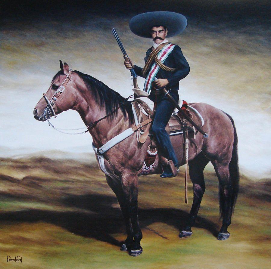 Emiliano Zapata Paco Leal Jpg 900 894 Revolucion Mexicana Revolucion De Mexico Historia De Mexico