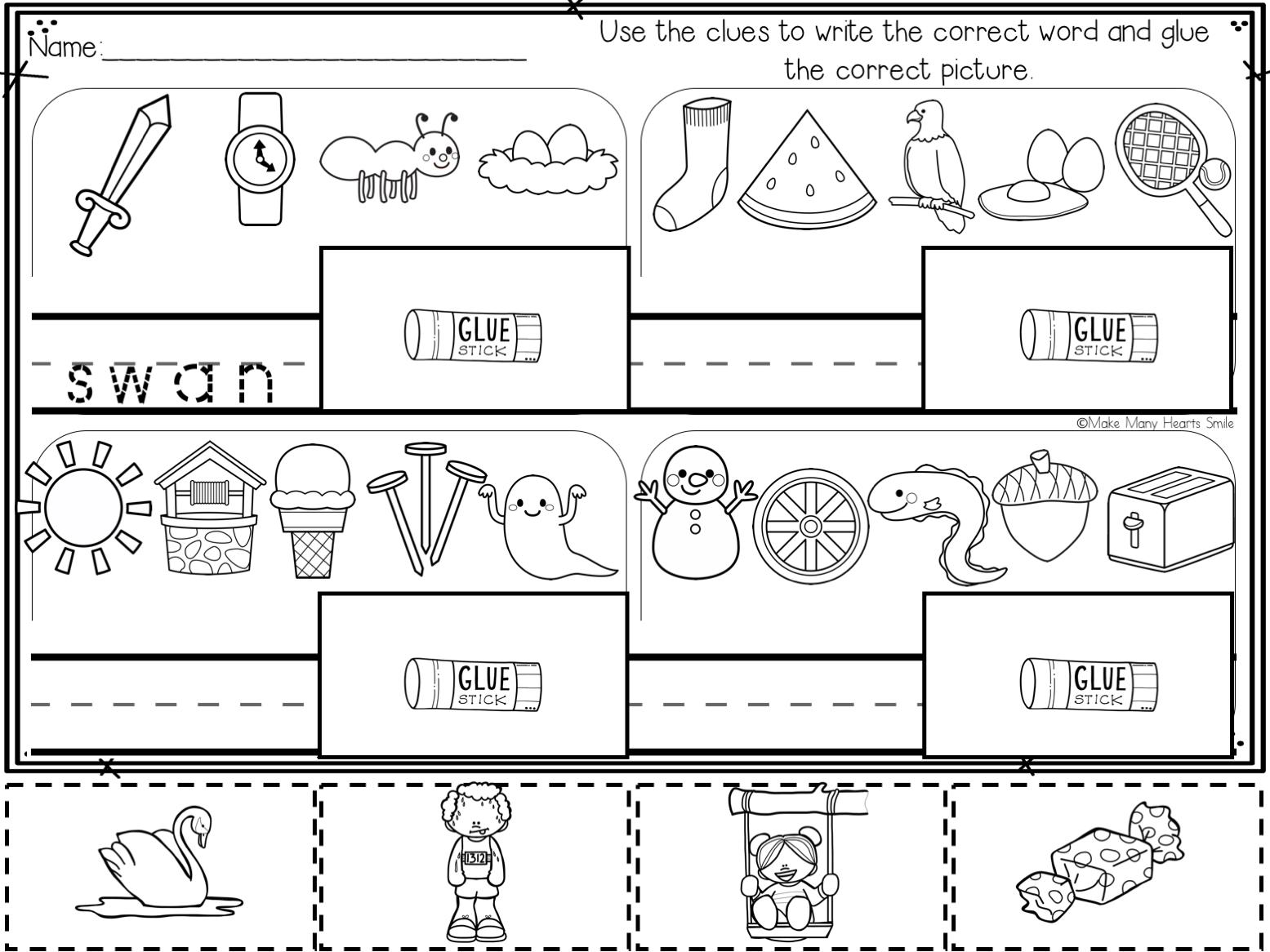 Secret Words Worksheet