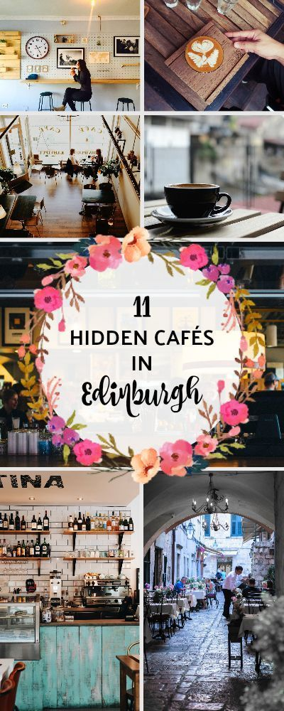 11 Hidden Bars & Cafés In Edinburgh That You'll Be So Proud To Discover #travelscotland