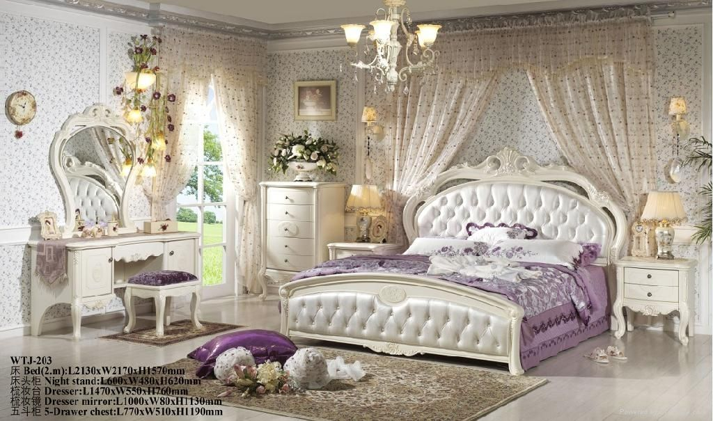 Fantastic Antiqueal Wooden White Bedroom Set Wtj Daily Interior Design Inspiration White Bedroom Set Traditional Bedroom White Bedroom Decor