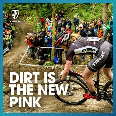 Dirt Is The New Pink Woman In A Mountain Bike Race Moto Memes