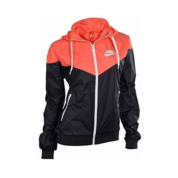 Femmes Nike Veste De Course De Windrunner Noir / Pourpre