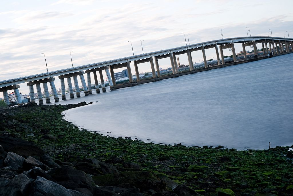 The Rikers Island Bridge is the sole route to the island for