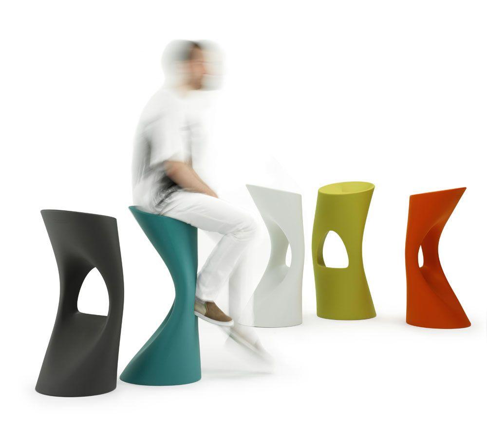 design outdoor, mobilier de jardin, plastic, Flod stool, Martin Azua ...
