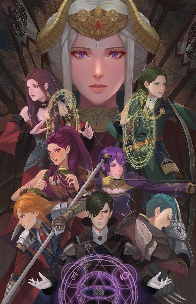 Yagaminoue Animenyc X3 On Twitter Fire Emblem Wallpaper Fire Emblem Characters Fire Emblem