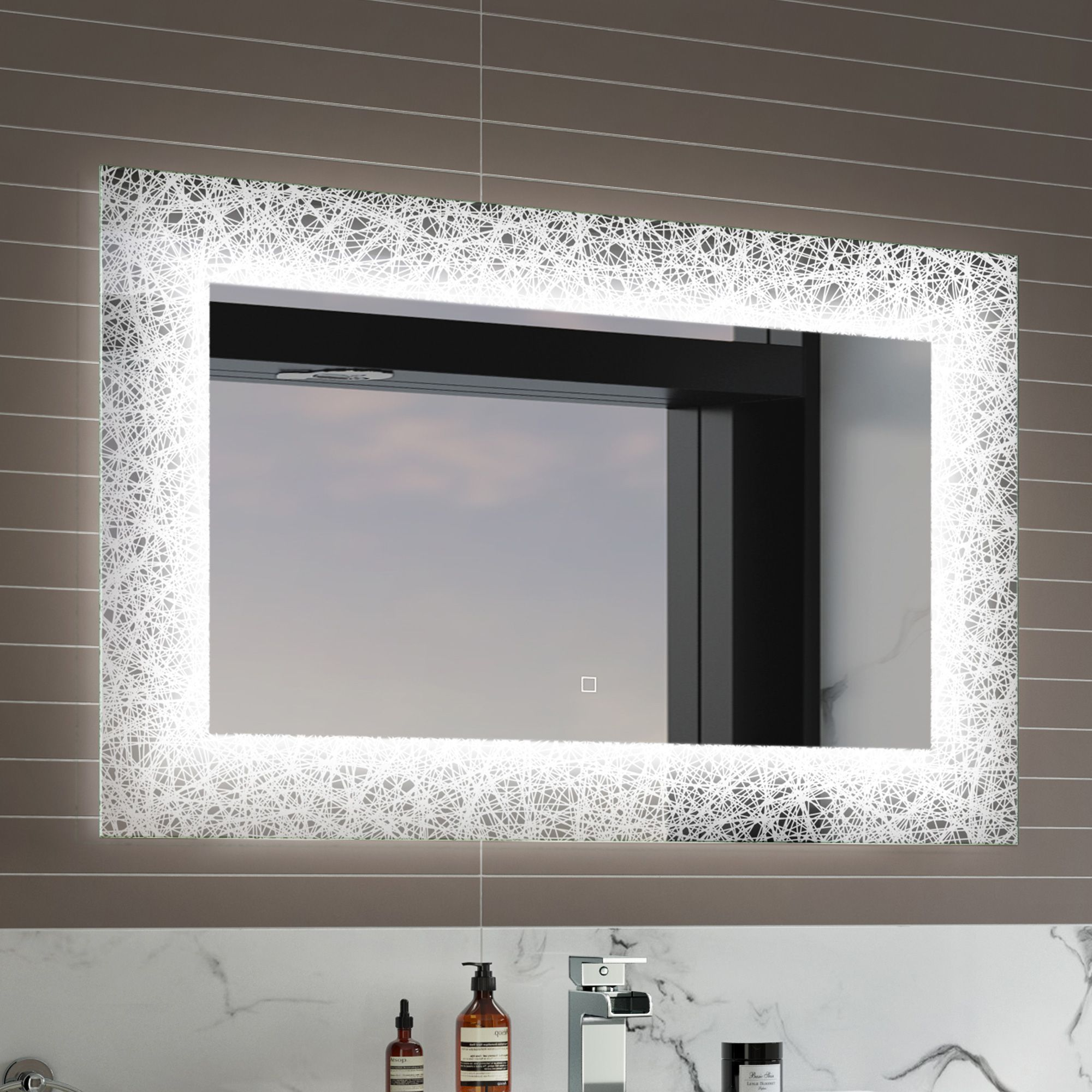 Light Up Mirror For Bathroom Made By China Manufacturer Photo