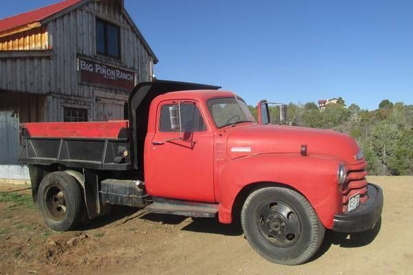 1947 Cheverolet 4400 Dump Truck Antique Vintage Classic Trucks Dump Trucks Old Trucks