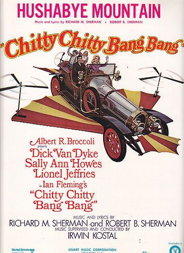 Hushabye Mountain From Movie Chitty Chitty Bang Bang Sheet Music