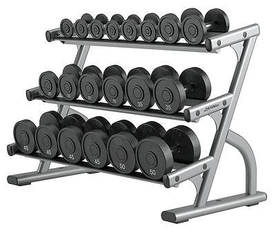 Weight Storage 179819: Life Fitness 3-Tier Dumbbell Rack - Osdb3 -> BUY IT NOW ONLY: $1225.14 on eBay!