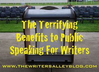 The Writers Alley: The Terrifying Benefits of Public Speaking for Wri...