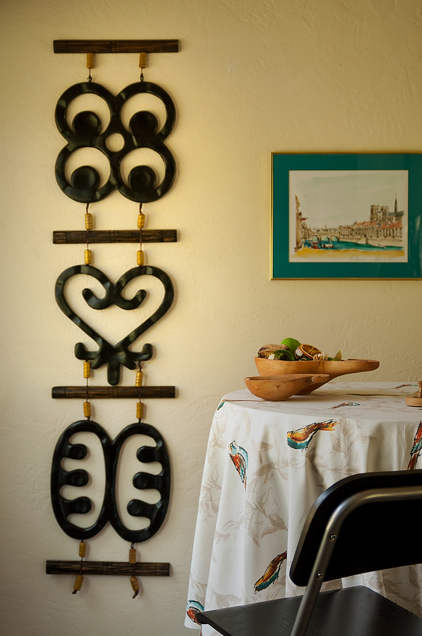 African adrinkra triple wall hanging art  sculpture handmade in africa swahili modern also rh pinterest