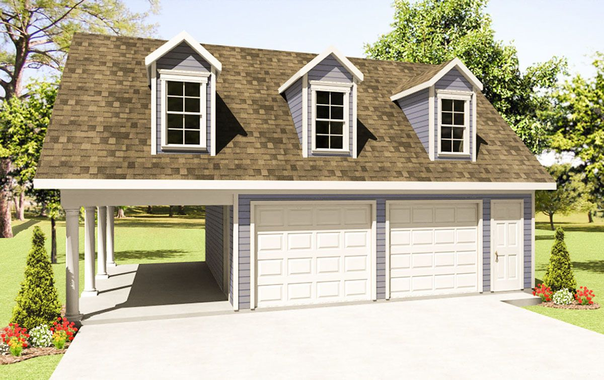 Plan 51120mm Great Addition To Any Home In 2021 Garage Plans With Loft Garage Plans Detached Garage House Plans