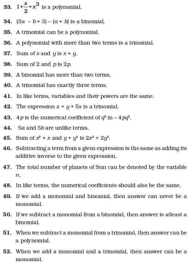 Class 7 Important Questions For Maths Algebraic Expressions Algebraic Expressions Math Practice Worksheets This Or That Questions