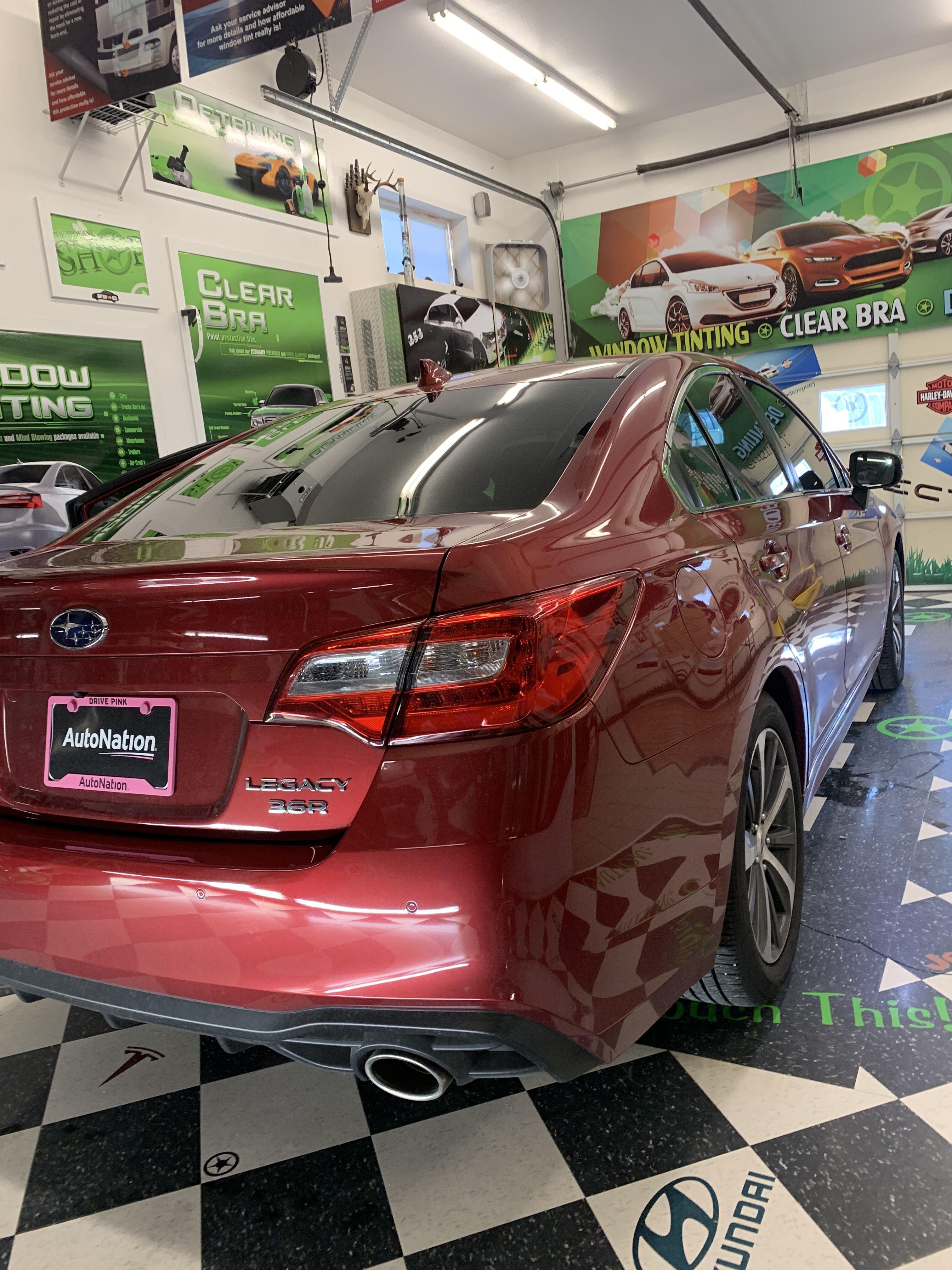 2019 Subaru Legacy Subaru Legacy Tinted Windows Clear Bra