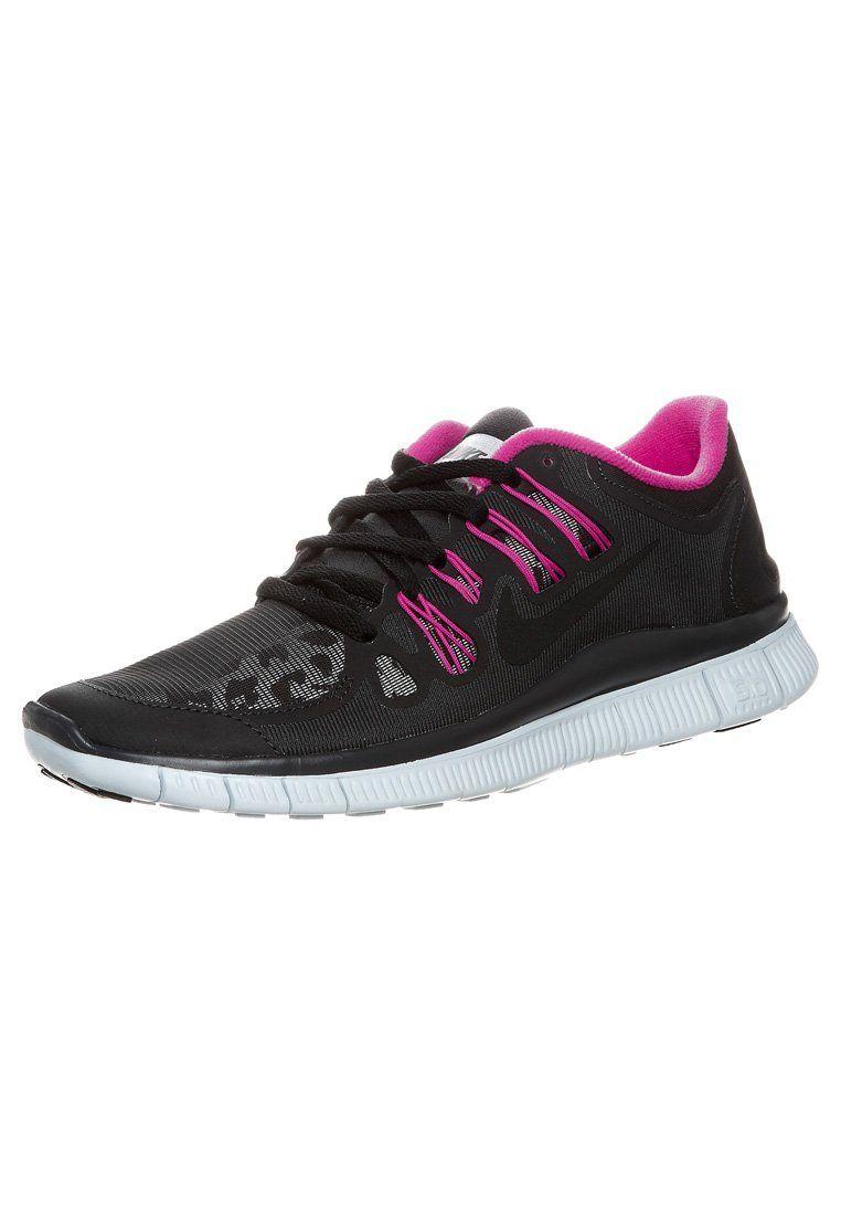 9cf4ee3725d Nike Performance - NIKE FREE 5.0 - Lichtgewicht hardloopschoenen - Zwart