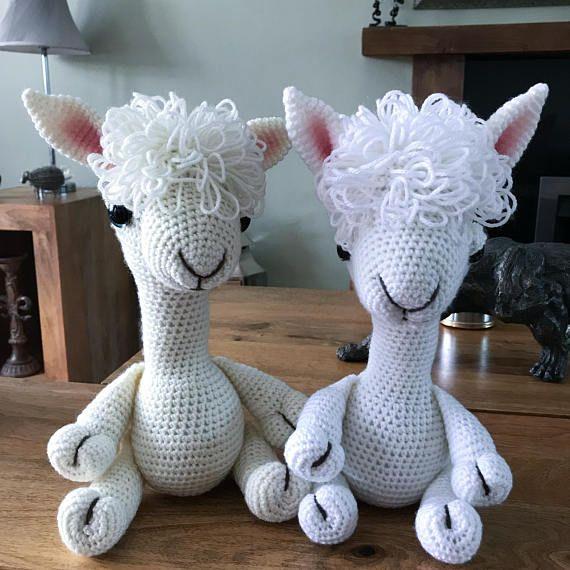 Crochet pattern, alpaca, llama, amigurumi pattern, plushie, alpaca ...