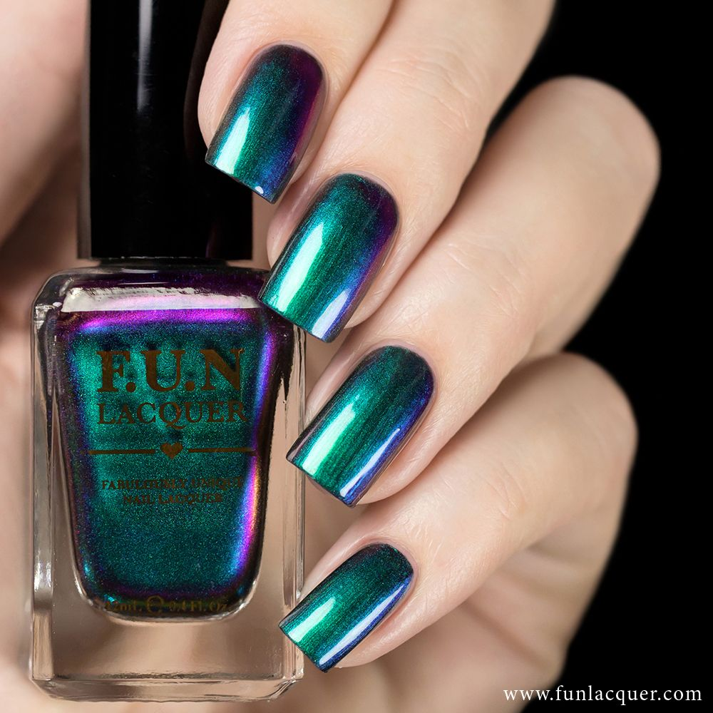 """Blessing is one of our TOP SELLER! It shifts stunningly between the vibrant green, blue, violet and a soft pink! Recommend to apply without the need of a base colour. Fully opaque in 2-3 coats.All F.U.N Lacquers are 5-FREE! They do not contain Dibutyl Phthalate (DBP), Toluene, Formaldehyde, Formaldehyde Resin, Camphor and it is cruelty FREE.*Kindly read the shop policy <a target=""""_blank"""" href=""""http://www.funlacquer.com/shop-policies""""><font color=..."""