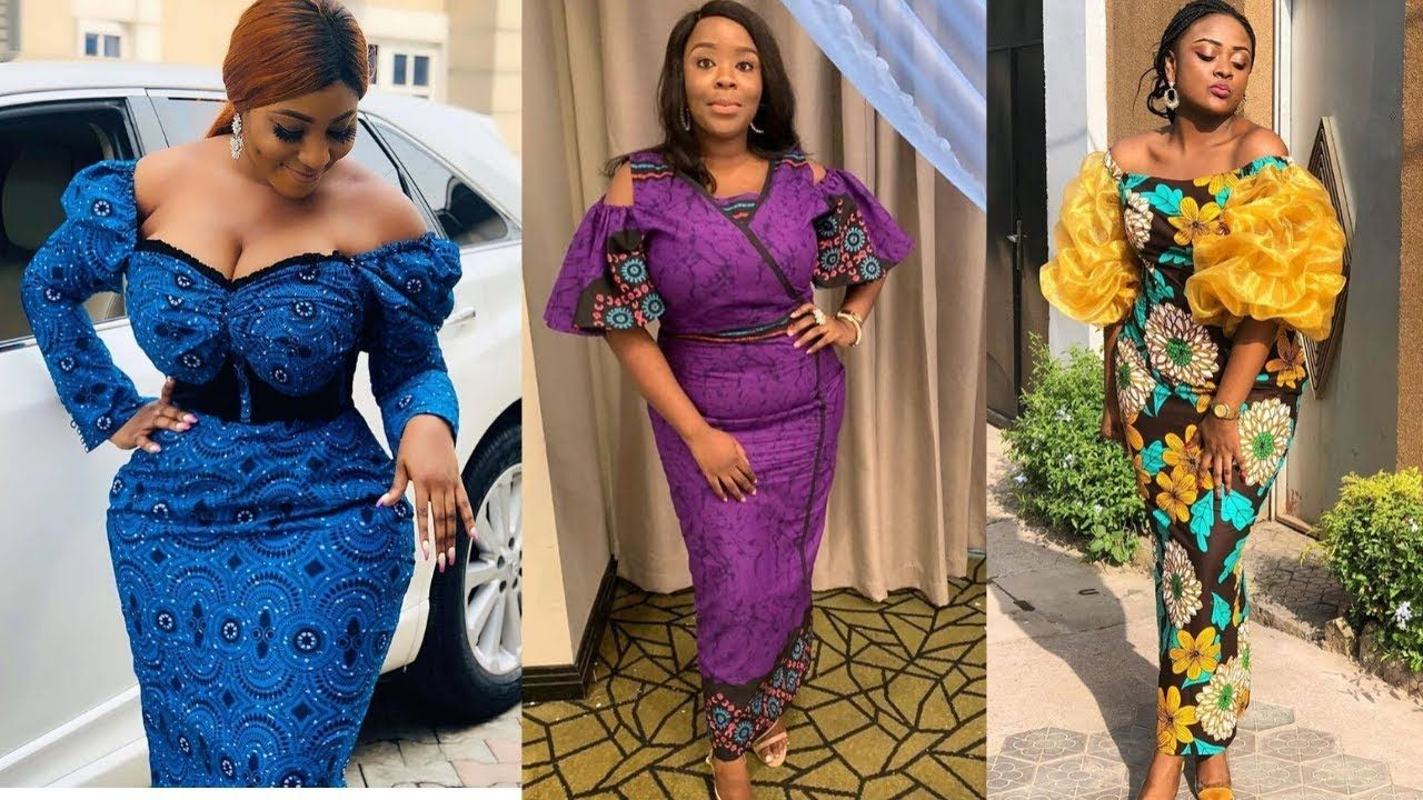 Ankara Fashion Styles Pictures 2020 And Aso Ebi Styles Collection For We In 2020 Long Gown Dress Ankara Wedding Styles African Fashion Dresses