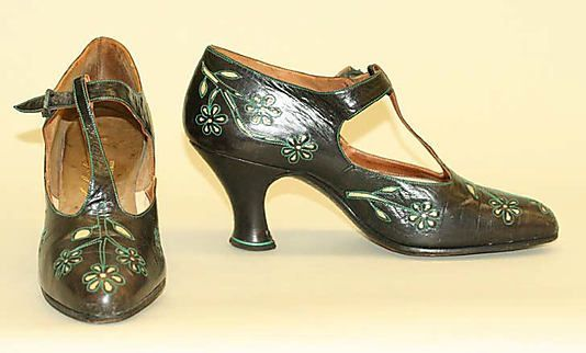 Shoes, 1925, French