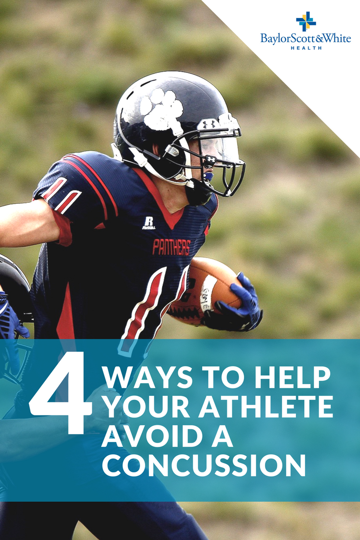 4 Ways To Help Your Athlete Avoid A Concussion Athlete Kids