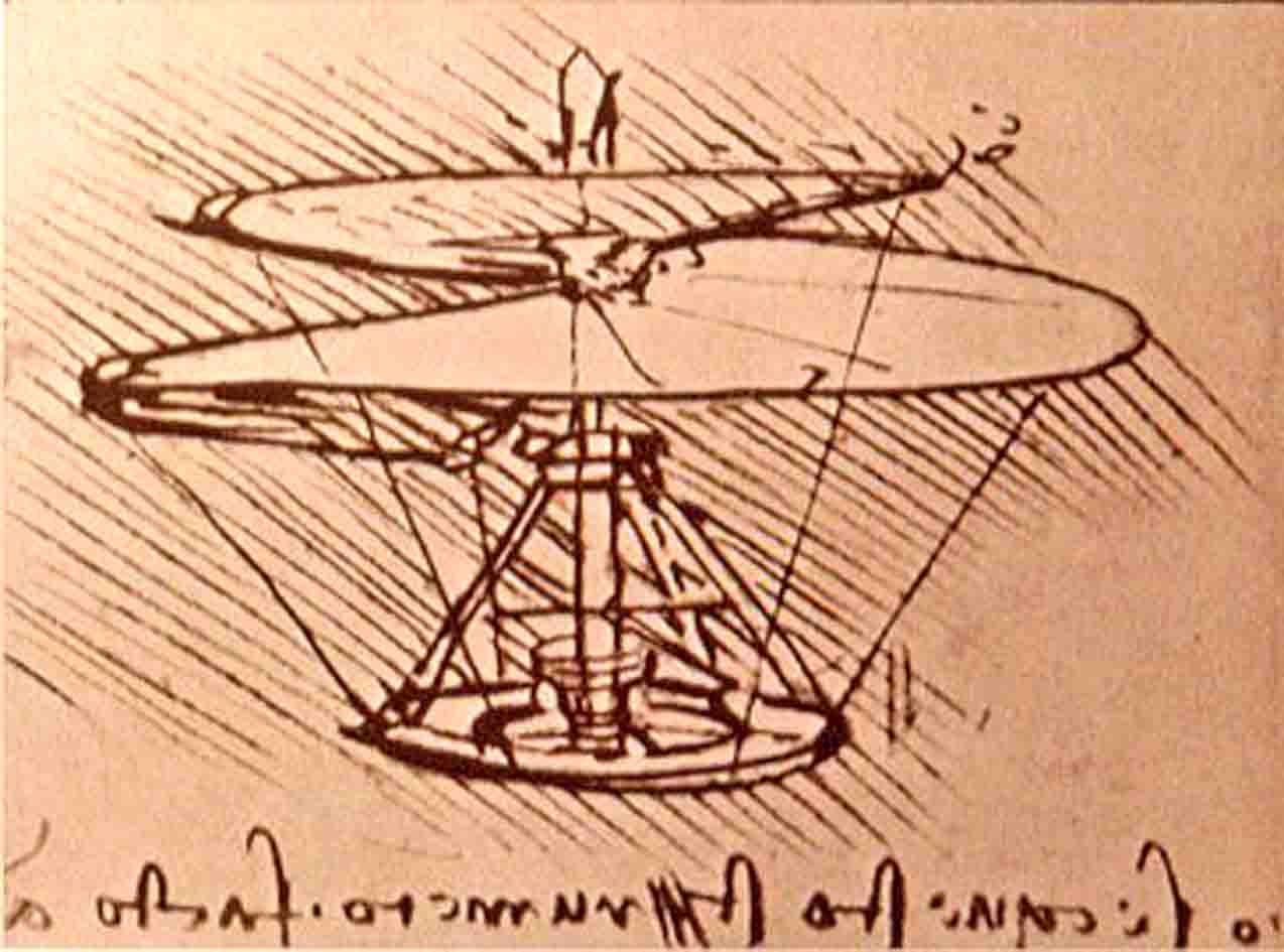 Tornillo Aereo Leonardo Da Vinci Leonardo Da Vinci Leonardo Da Vinci Renacimiento Renacimiento