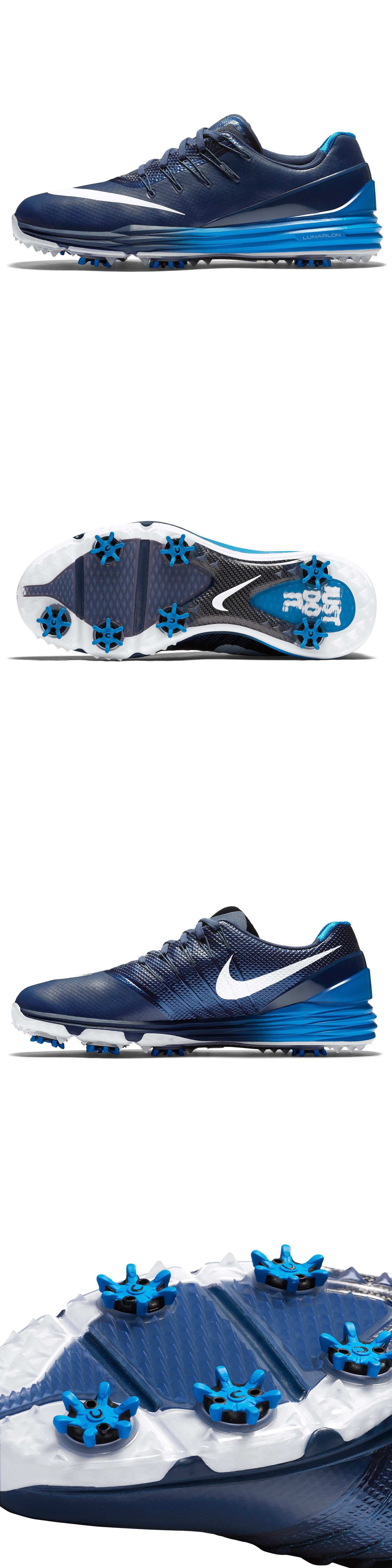 online store d1a55 f7ee5 Golf Shoes 181136  New Nike Golf Lunar Control 4 Mens Golfing Shoes Spikes  - Navy
