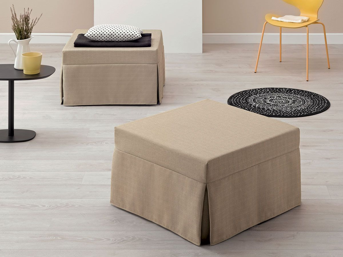 Letti Per Ospiti Salvaspazio i pouf letto singoli sono comodi per dormire (con immagini