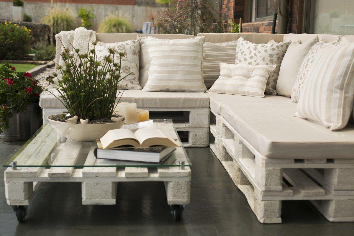 Muebles de palets maravilloso pallet pinterest for Muebles terraza palets