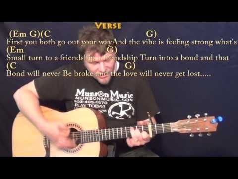 See You Again Wiz Khalifa Strum Guitar Cover Lesson With Chords