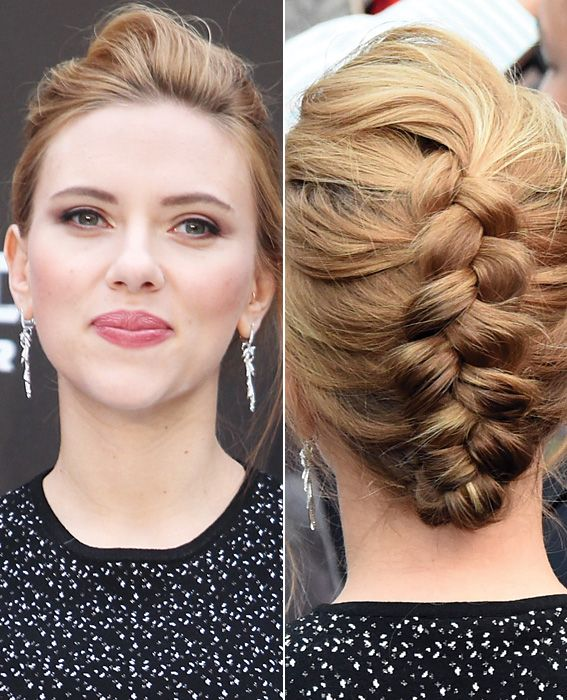 10 Summer Styles to Wear Right Now - Scarlett Johansson's French Braid from #InStyle
