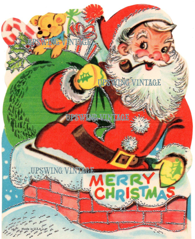 Printable Vintage Christmas Card Instant Digital Download Etsy Vintage Christmas Cards Vintage Christmas Vintage Printables